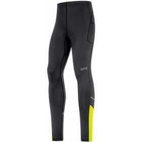 GORE WEAR R3 Spodnie do biegania Mężczyźni, czarny/żółty